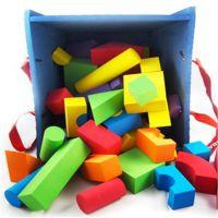 EVA成型加工 雕刻泡沫内衬 一体成型异形EVA玩具方块 定做