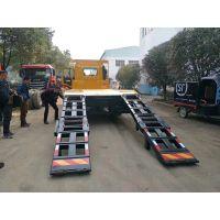 顶管机运输车大型挖机平板拖车厂家直销18672732638