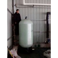 供应直径750高度1950mm的软化水树脂罐 软化离子交换设备