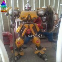 广东厂家现货新款热销大型机器人模型雕塑 影视人物形象展览道具 大黄蜂雕塑有现货