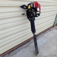 锯齿式带土球起树机 汽油冲击铲挖树机 链条式断根机图片