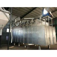 烘干5吨节能高效狗粮蒸汽烘干机 海源制造