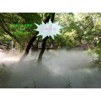 专业园林景观人造雾工程深圳东佳强景区雾森设计安装