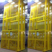 杭州市 贺州市厂家直销固定式升降台 启运桂林市导轨式大型货梯 定制货梯