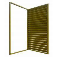 Q235许昌空调百叶栏杆,HC许昌组装飘窗护栏,锌钢百叶窗围栏,拼装围墙护栏