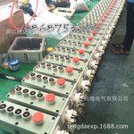 腾达工厂防爆升降机按钮LA5817-4K防爆电动葫芦按钮行车带急停开关