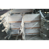 不锈钢清粪机 羊场专用清粪板 刮粪机械厂家