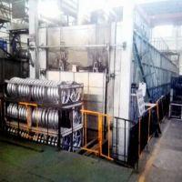 金力泰铝合金热处理炉 大型推杆式铝合金快速固溶炉 2024铝合金淬火工艺