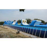 河北室外大型儿童水乐园超级好玩的水上闯关设备