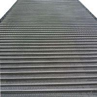 卓远专业生产不锈钢链条网带 退火炉耐高温双旋网带 使用寿命长