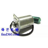 锋芒机械进口挖机配件小松PC120-6(6D95)朱仔泵电磁阀(A)