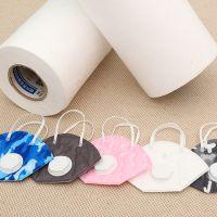 厂家直销聚丙烯熔喷无纺布过滤布 过滤细菌白色纺粘口罩布批发