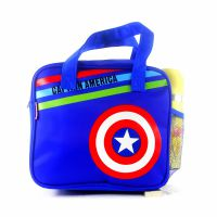 加大号手提包便当包饭盒袋拎包装饭午餐袋小学生儿童防水加厚涤纶