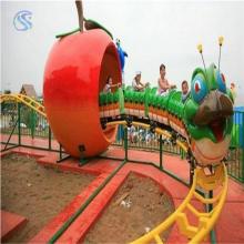 新型游乐场设备青虫滑车规格可根据客户要求定做的儿童游乐设备