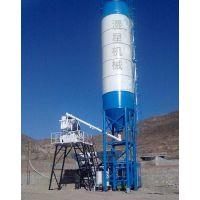 HZS-25商用搅拌站厂家 漫星混凝土搅拌站价格