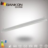 百光照明嵌入式线型灯 白色优质铝材外壳LED线条灯 1.2米40W嵌入式线条面板灯