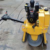 弗斯特手扶大单轮压路机成本价格出售小型振动压路机