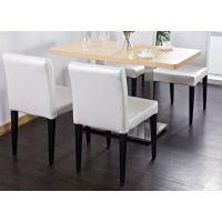 海德利 北欧咖啡厅实木餐桌椅西餐厅主题现代甜品餐饮店休闲桌椅组合