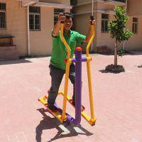 陆丰健身器械告示牌 健身区域俱乐部 114管材锻炼设备教学
