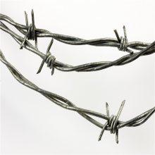 普通刺绳防护网 直线型刀片刺绳 新疆刀片刺网