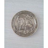 黄铜圆币 公司周年纪念 退伍纪念币 各种金属礼品定制