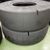 长期供应17.5R25采石场矿用光面铲运机轮胎全钢工程机械轮胎电话15621773182
