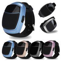 B90蓝牙音箱 手表运动户外音响 新款无线小音箱插卡带液晶显示屏中性