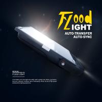 2.4G 50W新款RGB+W LED泛光灯 30m智能遥控 超频3外壳 明纬电源