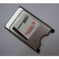 供应PCMCIA卡座 PCMCIA转CF读卡器 PC卡套 CF转PCMCIA读卡器