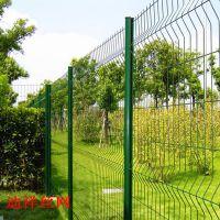 陕西西安护栏网厂区专用 停车场用 绿化带专用 公园公路专用护栏网 绿色围网