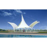 公园小品膜结构 休闲景观亭膜结构 市政广场标志张拉膜 绿化带景观膜结构