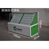 湘潭市地区定制高档香烟展示柜 便利店烟柜带收银一体柜 特价直销前台吧台