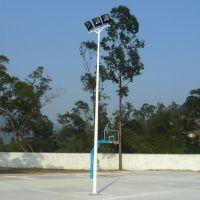 雅浩定做加工 太阳能路灯灯杆厂家 热镀锌灯杆批发 网球场灯光