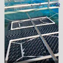江西南昌黄鳝养殖巢户外用的 PVC材质 尺寸1米宽 河北华强养殖设备