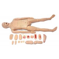 2018款全功能男性护理人训练模型,全功能组合式护理模型人,男女性护理模拟人