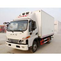 江淮骏铃V6新款驾驶室国五4.2米冷藏车图片、配置、价格、咨询热线:13886883785