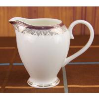 浩新骨质瓷奶缸 定制咖啡具 欧式陶瓷奶缸 早餐奶杯