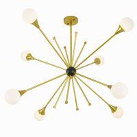 丽灯源厂家批发球球现代客厅卧室铁艺吊灯 创意简约装饰吊灯批发