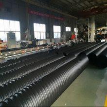 市政排污PE钢带增强排水管安装方法