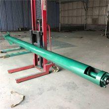 兴亚根据客户要求定做螺旋提升机 加厚钢管螺旋输送机