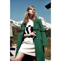厂家直销高端货品时髦爆款双面尼大衣便宜批发