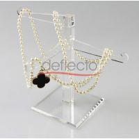 透明亚克力项链展示架,奢侈品展示架,珠宝架,玛瑙项链展架 首饰店贵重物品多功能架