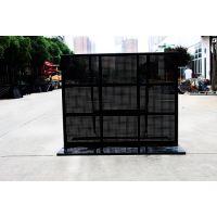 厂家直销镀锌防爆铁马晚会演唱会铁马1.2米×1.5米可定制