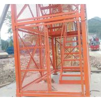 内蒙古专业生产安全施工梯笼 泽晟梯笼安全可靠