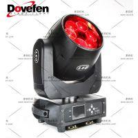 多芬6颗40W LED摇头灯迷你光束灯,适用于酒吧,迪厅,俱乐部,夜场,KTV包房,小型剧场