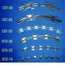 刀片刺线价格 焊接刀片刺绳 电镀锌刺绳