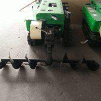 电启动履带式多功能 启航果树开沟施肥机 桃园开沟施肥机