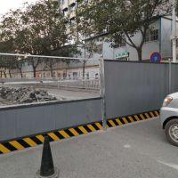 河南周口厂家直销pvc围挡 工地隔离围挡 彩钢夹芯板围挡 铁皮围挡