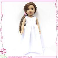 厂家直销18寸美国女孩植发娃娃搪胶工艺儿童礼物 支持定做