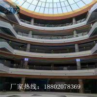 湛江鑫隆国际购物广场 双色包柱木纹铝板 铝单板幕墙生产厂家 富腾建材 铝单板吊顶品牌